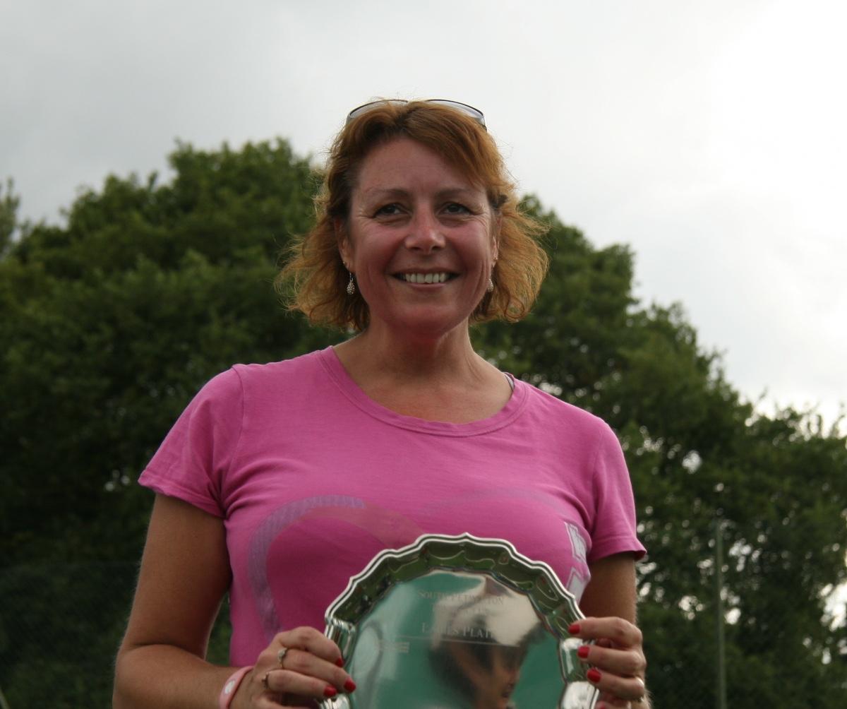 Plate winner Barbara