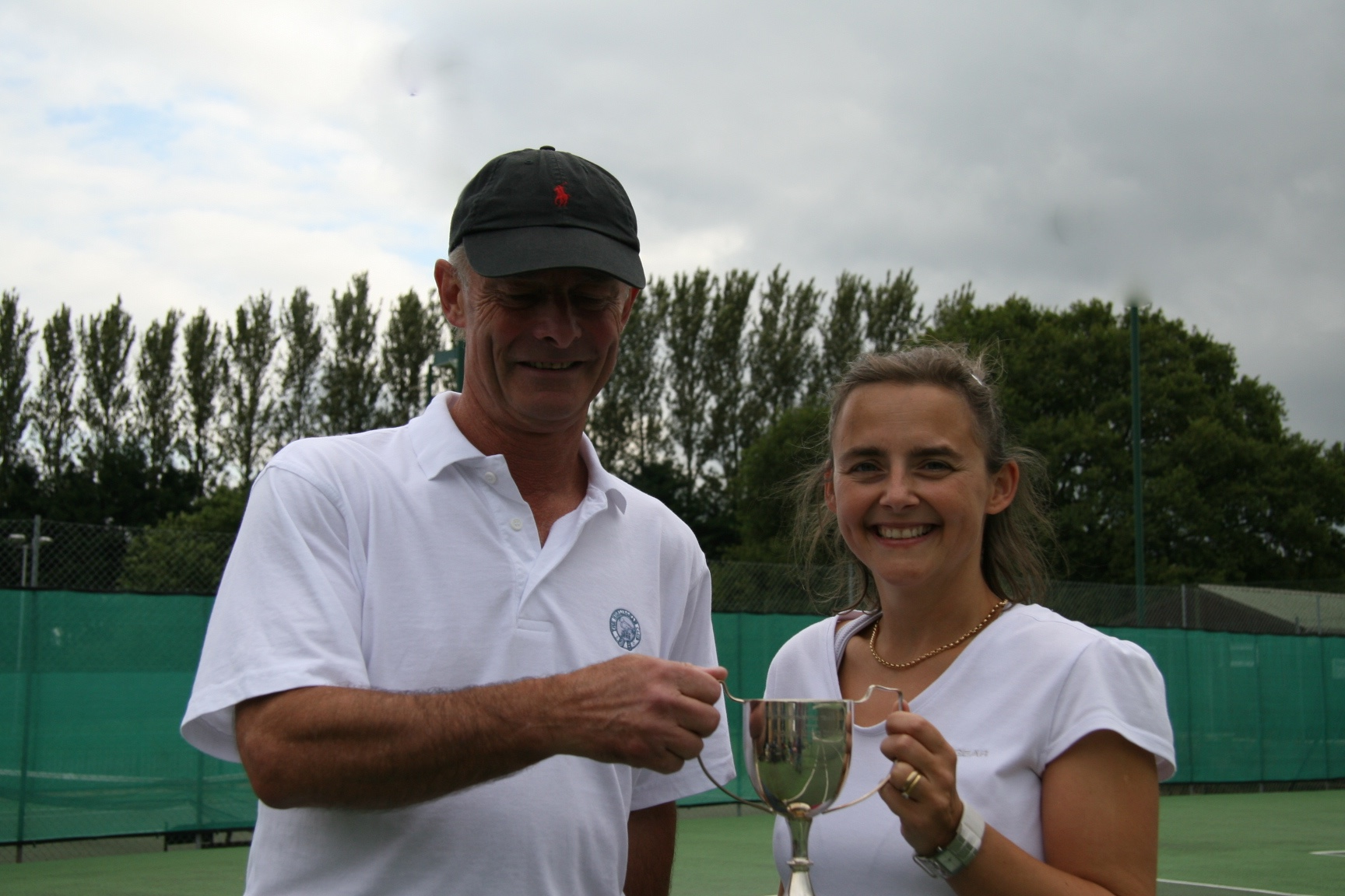 Mixed winners Freddie and Tanya