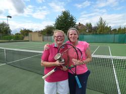 Winner Zena with finalist Kate