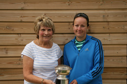 Doubles runners-up and winners