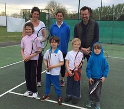 parent and child tennis south petherton