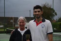 Mixed winners Liz and Dan