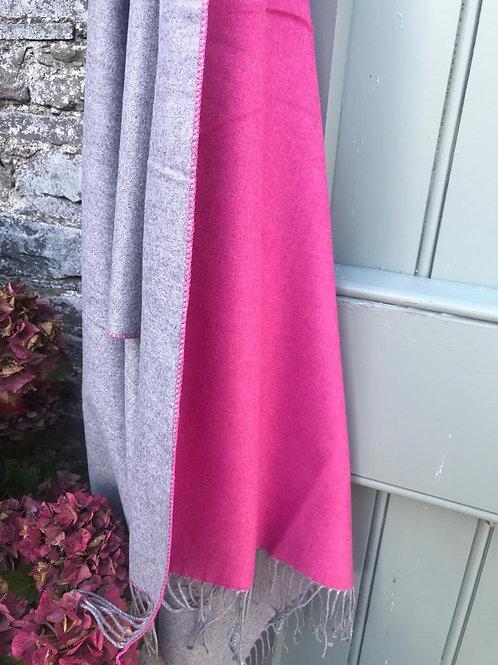 Large Pashmina,cashmere blend