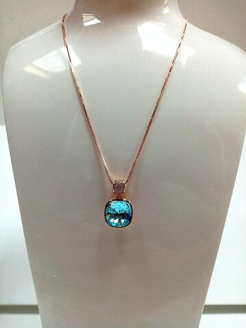 Blue Swarovski Pendant