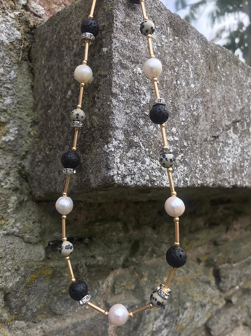 Pearl & Agate Necklace