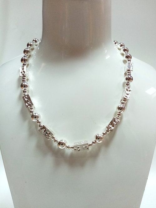 Silver- Plated Necklace