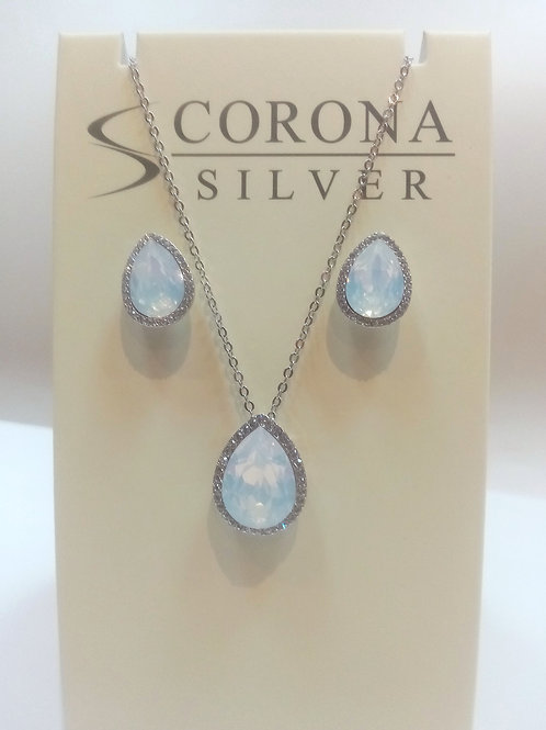 Swarovski Crystal Pendant/ Earring Set