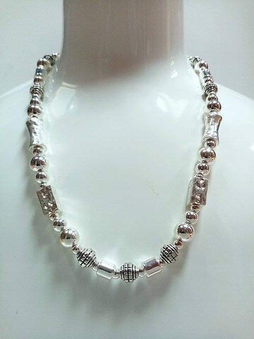 Silver-Plated Fashion Necklace