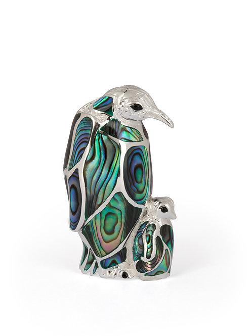 Silver Penguin & Chick