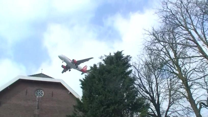 Vliegtuig met effect