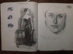 Sketchbook pg 41-42