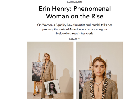 Erin Henry: Phenomenal Woman on the Rise