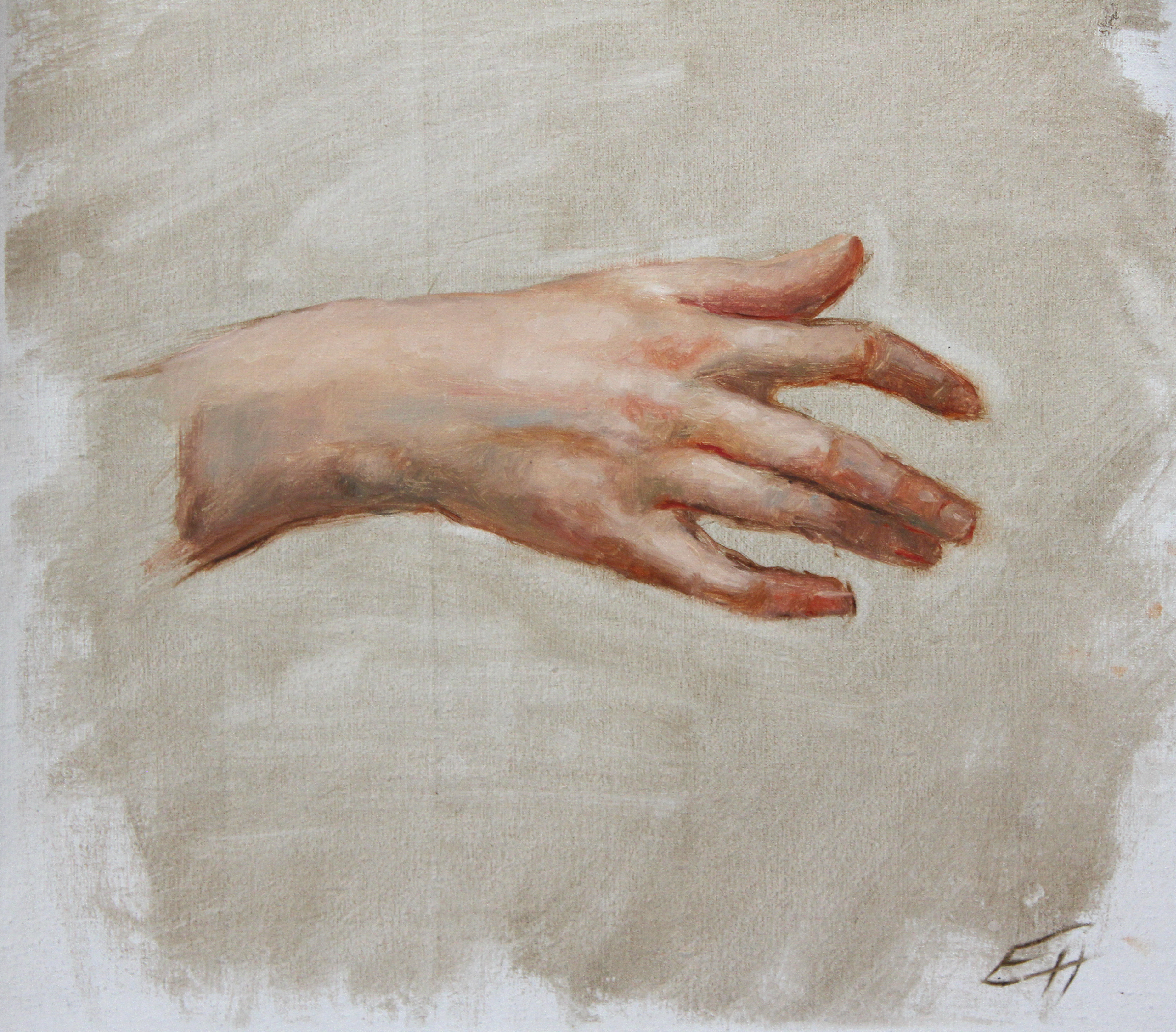 Bouguereau study