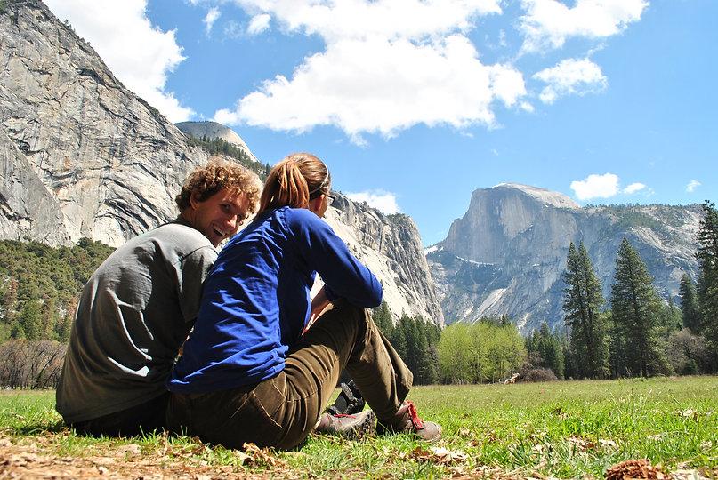 Leah and Rusty at Yosemite