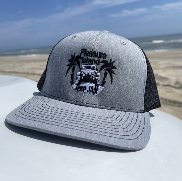 RICHARDSON TRUCKER HAT - HEATHER GRAY/BLACK