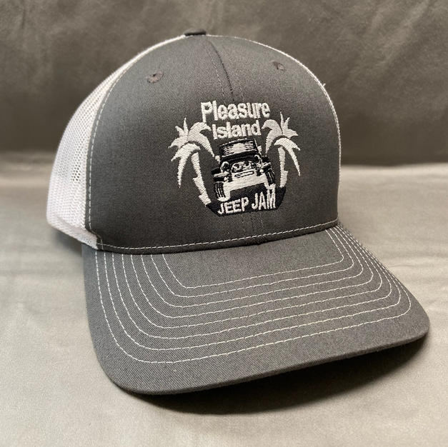 RICHARDSON TRUCKER HAT - CHARCOAL/WHITE