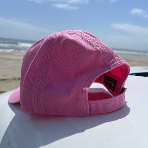 RELAXED FIT, ADJUSTABLE HAT - PINK