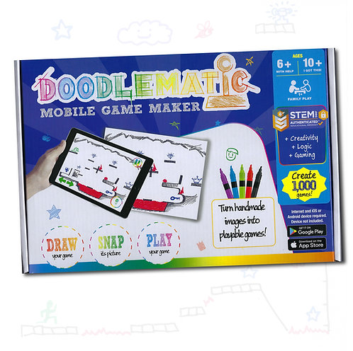 DoodleMatic Interactive Mobile Game Creating Starter Kit
