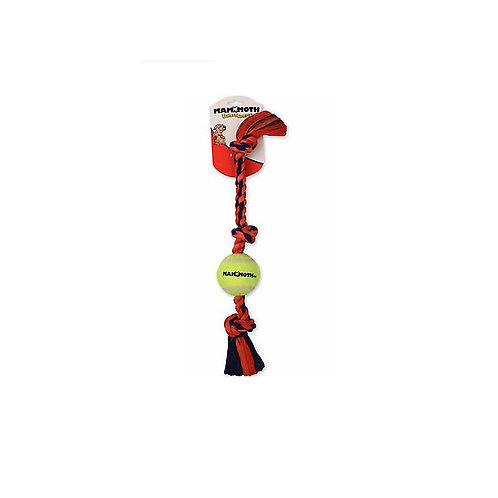 Mammoth Small 11 Extra 3 Knot Tug w/Tennis Ball