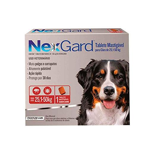 Nexgard: Caninos de 25.1kg a 50kg 136mg