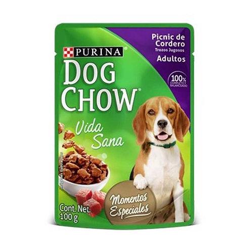 Dog Chow Picnic de Cordero Trozo Jugosos x 100g
