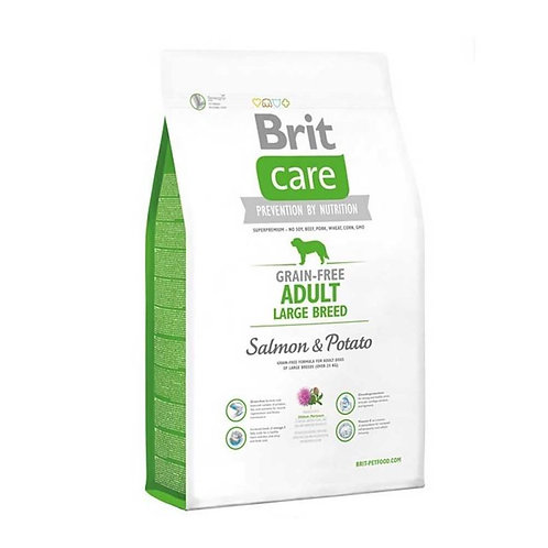 Brit Care Grain-Free Adult Large Breed Salmon & Potato 12k