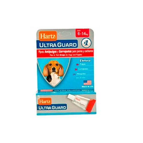 Hartz Ultraguard Dog 6 - 14 kg -Caja x 1 pipeta