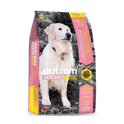 Nutram S10 Sound Senior Dog - Adulto mayor 13k