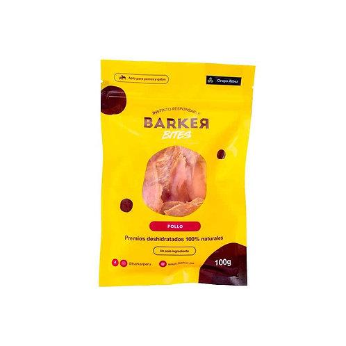 Barker Bites (Perro/Gato) Pollo deshidratado x 100gr