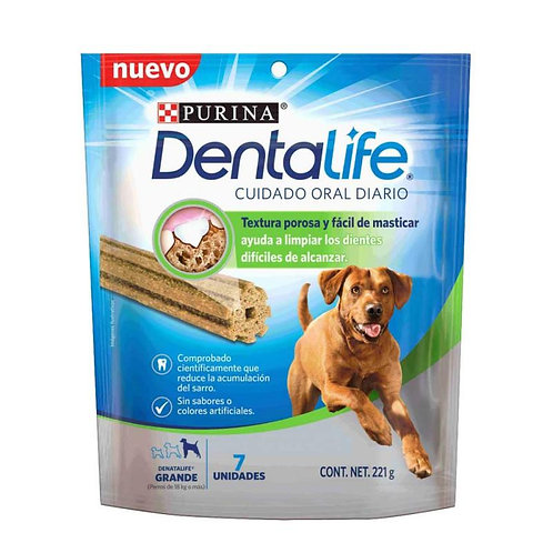 Dentalife Dogs Large Breed 7 x 196g - Cuidado oral raza grande