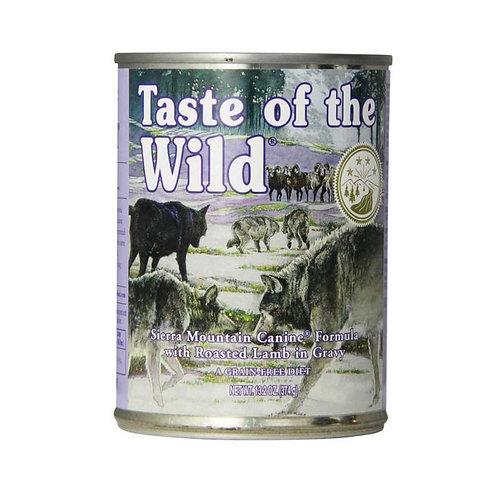 Taste of the Wild Sierra Mountain Canine - Cordero Asado 374g