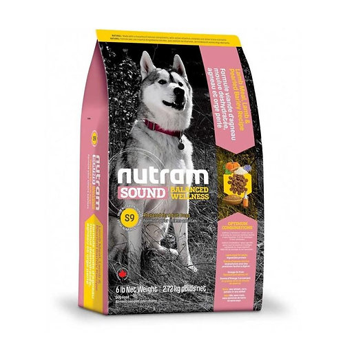 Nutram S9 Sound Lamb Adult Dog - Adulto - Cordero 2k
