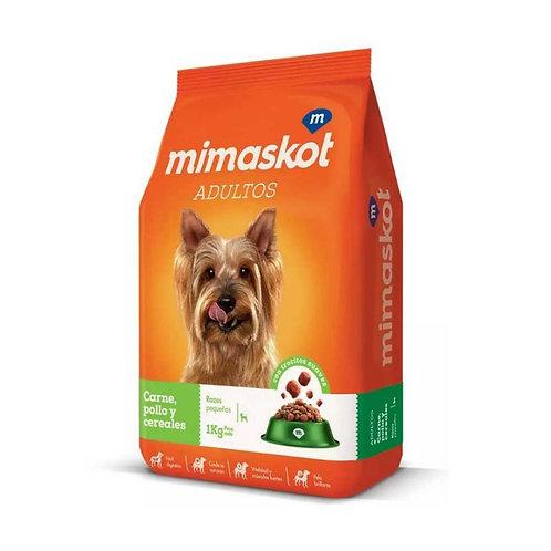 Mimaskot Adulto Razas Pequeñas - Carne, pollo y cereales 15k