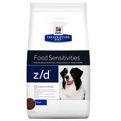 Hills PD z/d Dry - Sensibilidad de piel y alimentos 3.6kg
