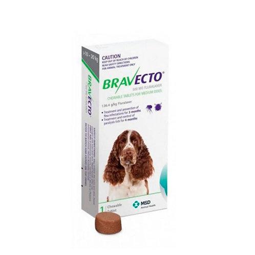 Bravecto Perros 500mg (10 - 20kg)