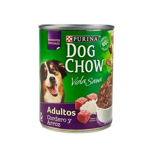 Dog Chow Cordero y Arroz 374g