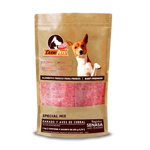 CarniPets Special Mix Sachets x 1kg