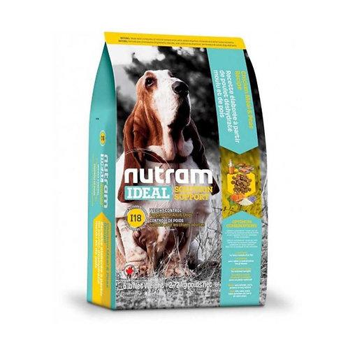 Nutram I18 Ideal Weight Control Dog - Control de peso 2k