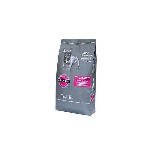 Giant Dog Cachorro Super Premium - Cordero y arroz 15kg