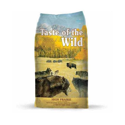 Taste of the Wild Adult-High Prairie Canine - Adulto- Bisonte y venado asado 2k