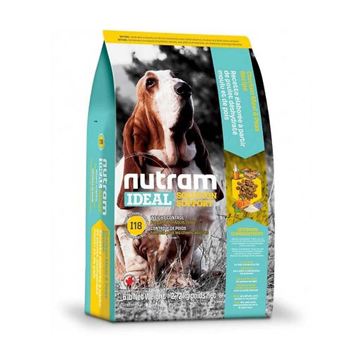 Nutram I18 Ideal Weight Control Dog - Control de peso 13k