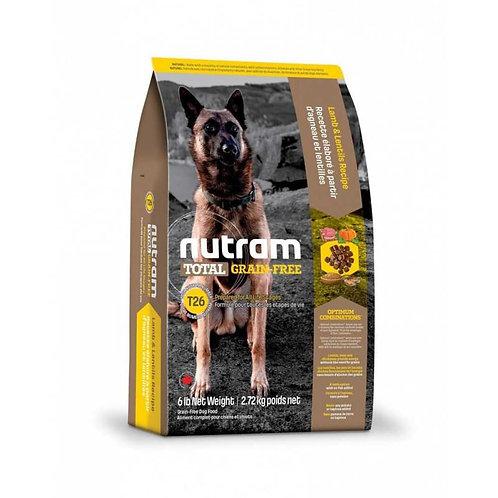 Nutram T26 Total Grain-Free Allergy Lamb - Libre de grano - Alergia - Cordero 2k