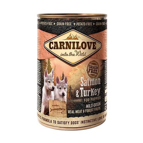Carnilove Salmon & Turkey for Puppies -Salmón y Pavo 400g