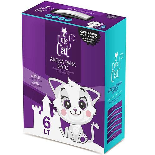 Caja de arena SUPER PREMIUM Cute Cat