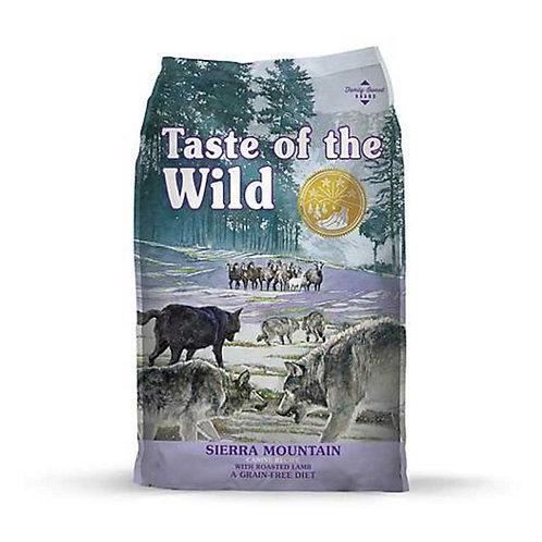 Taste of the Wild Adult Sierra Mountain Canine - Adulto - Cordero asado 2k