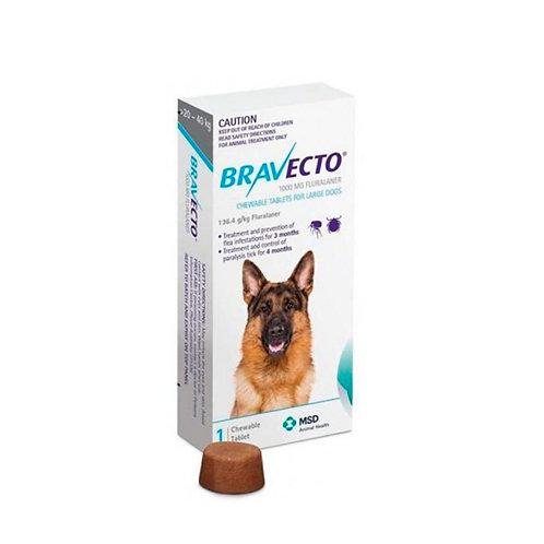 Bravecto Perros 1000mg (20 - 40kg)