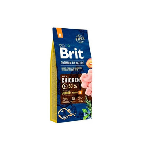 Brit Premium By Nature Junior Medium - Chicken 3k