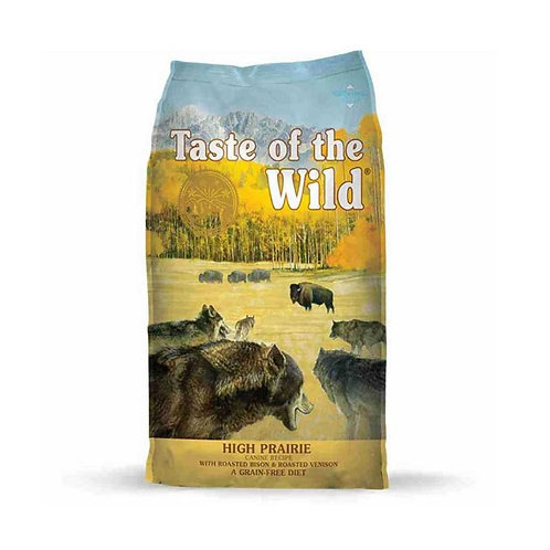Taste of the Wild Adult-High Prairie Canine - Adulto- Bisonte y venado asado 13k