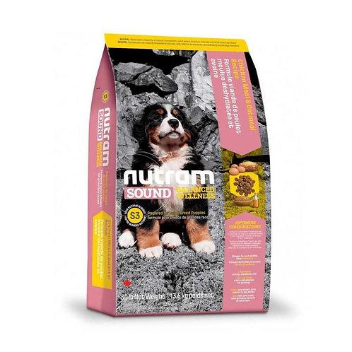 Nutram S3 Sound Large Breed Puppy - Cachorro - Raza grande 13k