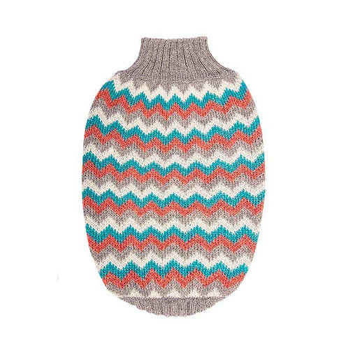 Hot Dogz Sweater Zig Zag Talla M